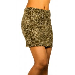 Stradivarius Animal Print Skirt