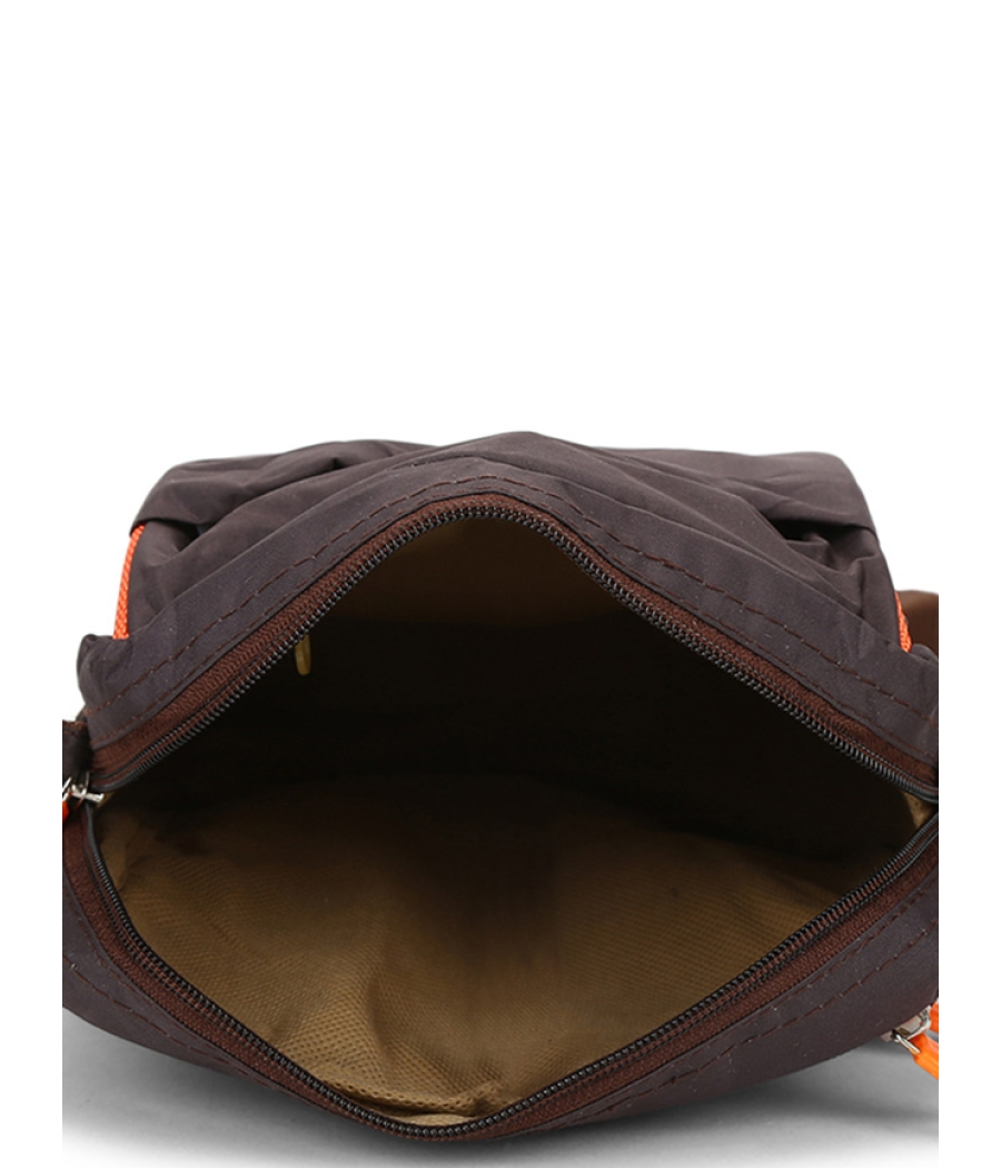 Envie Brown Colour Sling Bag for Students