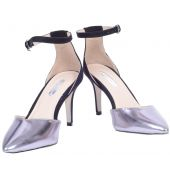 Dorothy Perkins Silver Pointed Toe Stilettos