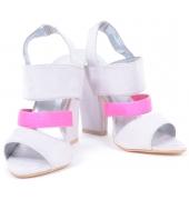 M Chunky Block Heels