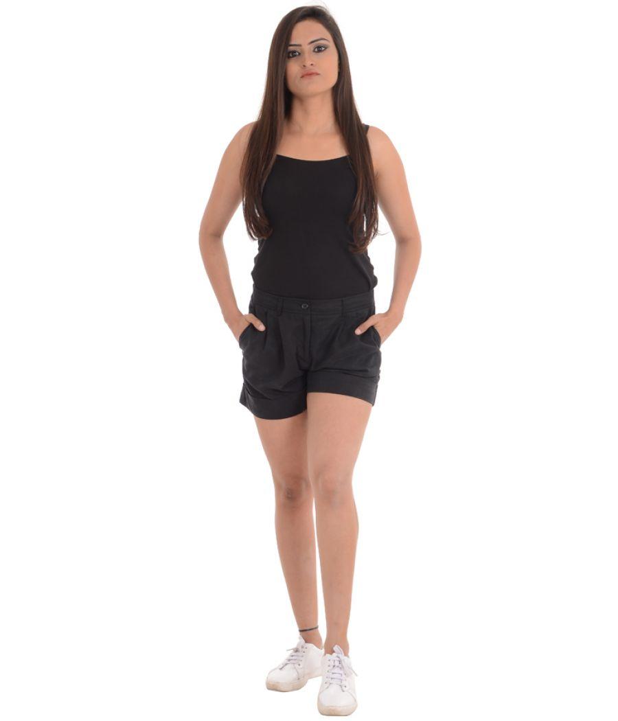 H&M Black Coloured Short