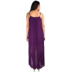 Rare London Purple Hi-Low Dress