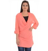 Vero Moda Polyester Solid Plain Pink Coloured Top