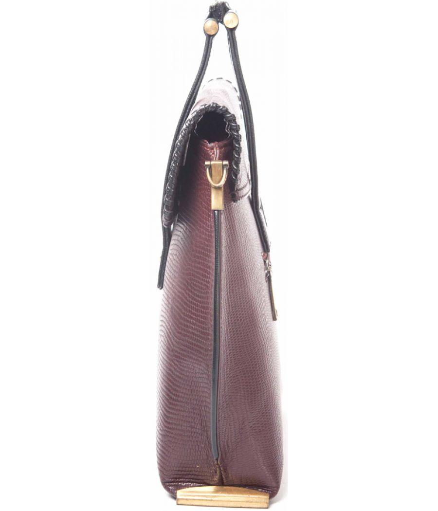 Maroon Handbag