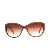 Karldi Pink Oval Sunglasses