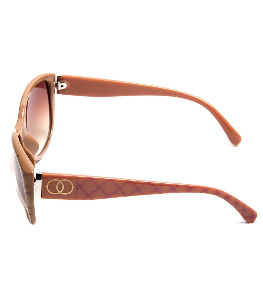 Karldi Pink Oval Sunglasses