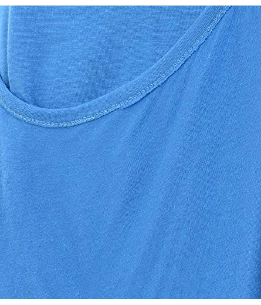Estance Viscose Solid Blue Shrug