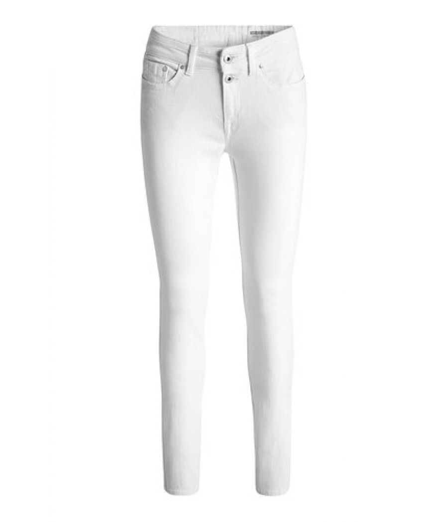 DC By Esprit Skinny White Jeans
