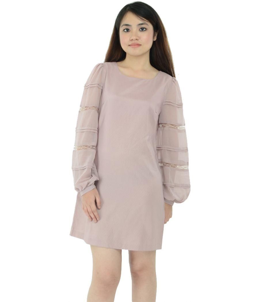 Miss Selfridge Bell Sleeve Shift Dress