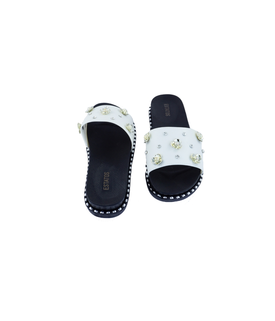 Estatos Synthetic Stylish Michael Flat Sandals