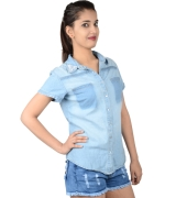 Max Blue Dennim Shirt