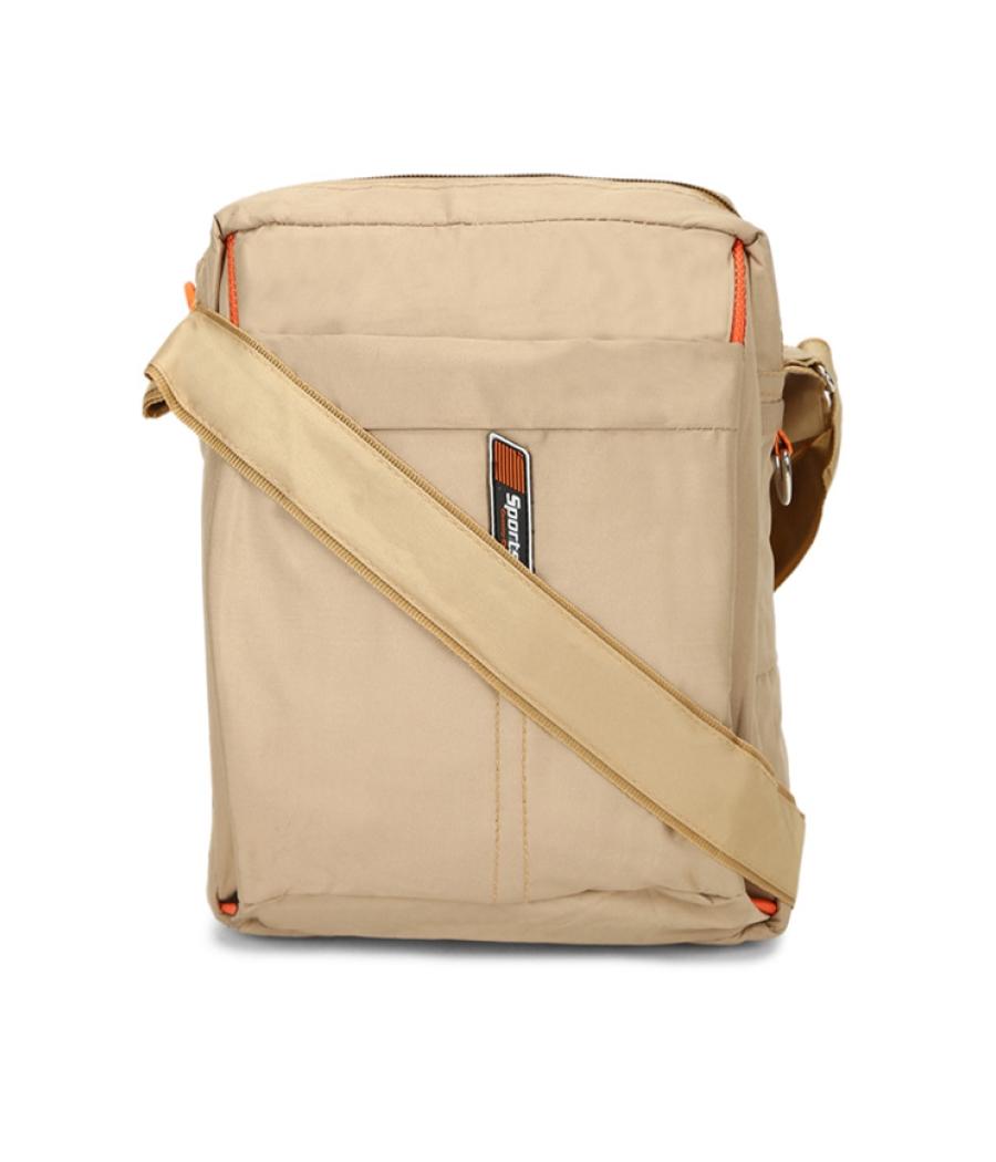 Envie Beige Colour Sling Bag for Students
