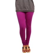 Magenta Leggings - 800 GSM