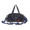 Aliado Navy Blue Coloured Solid Zipper Closure Sling Bag