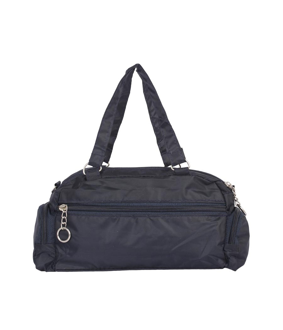 Aliado Navy Blue Coloured Solid Zipper Closure Sling Bag