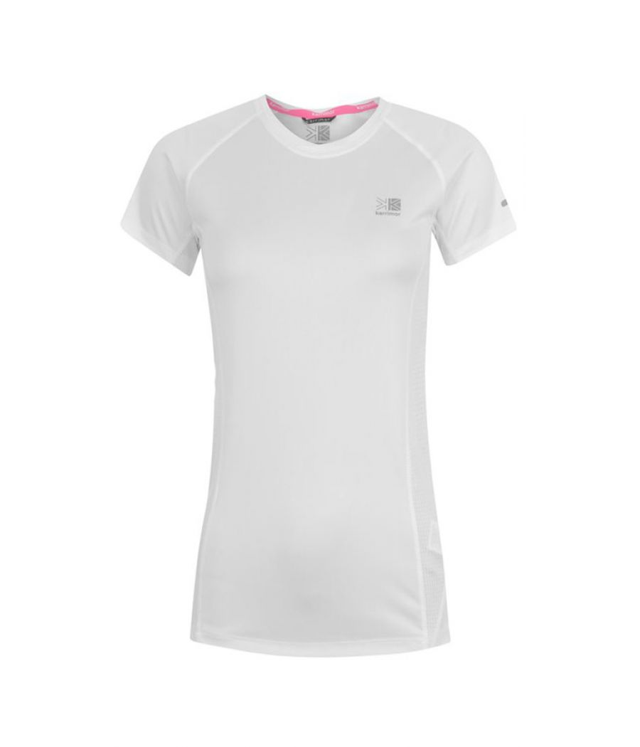 Karrimor Polyester White Plain T-shirt