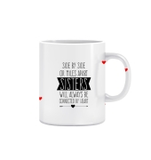 Joy N Fun        - SISTER - Printed Coffee Mug, 320ml, White