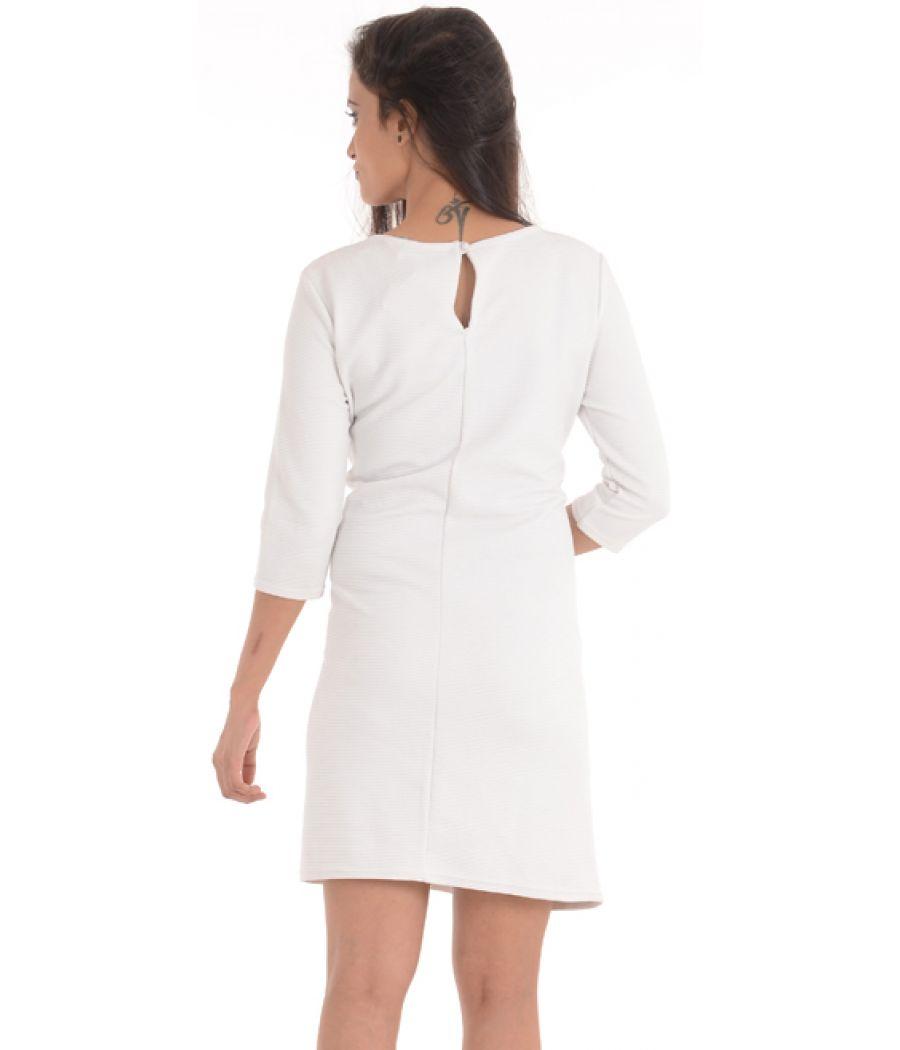 Asos Off-White Shift Dress
