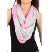 Baby Pink and Grey Stole