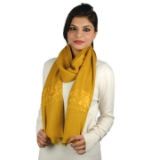 Silk Embroidery Pashmina Stole
