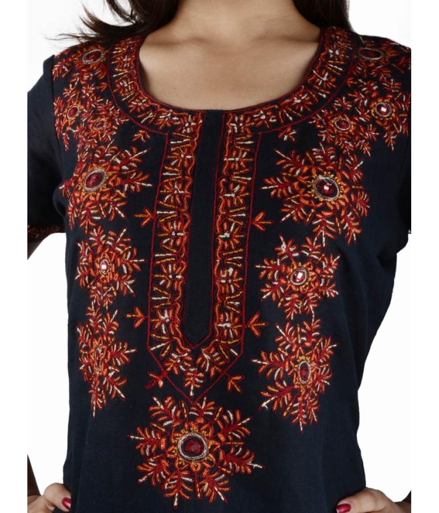 Kashmiri Embroidery Kurta