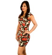 New York Laundry Printed Bodycon Dress