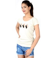 Allen Solly Off White Top
