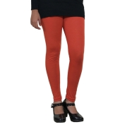 Orange Legging- 500 GSM