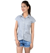 Nineteen Grey Cotton Shirt