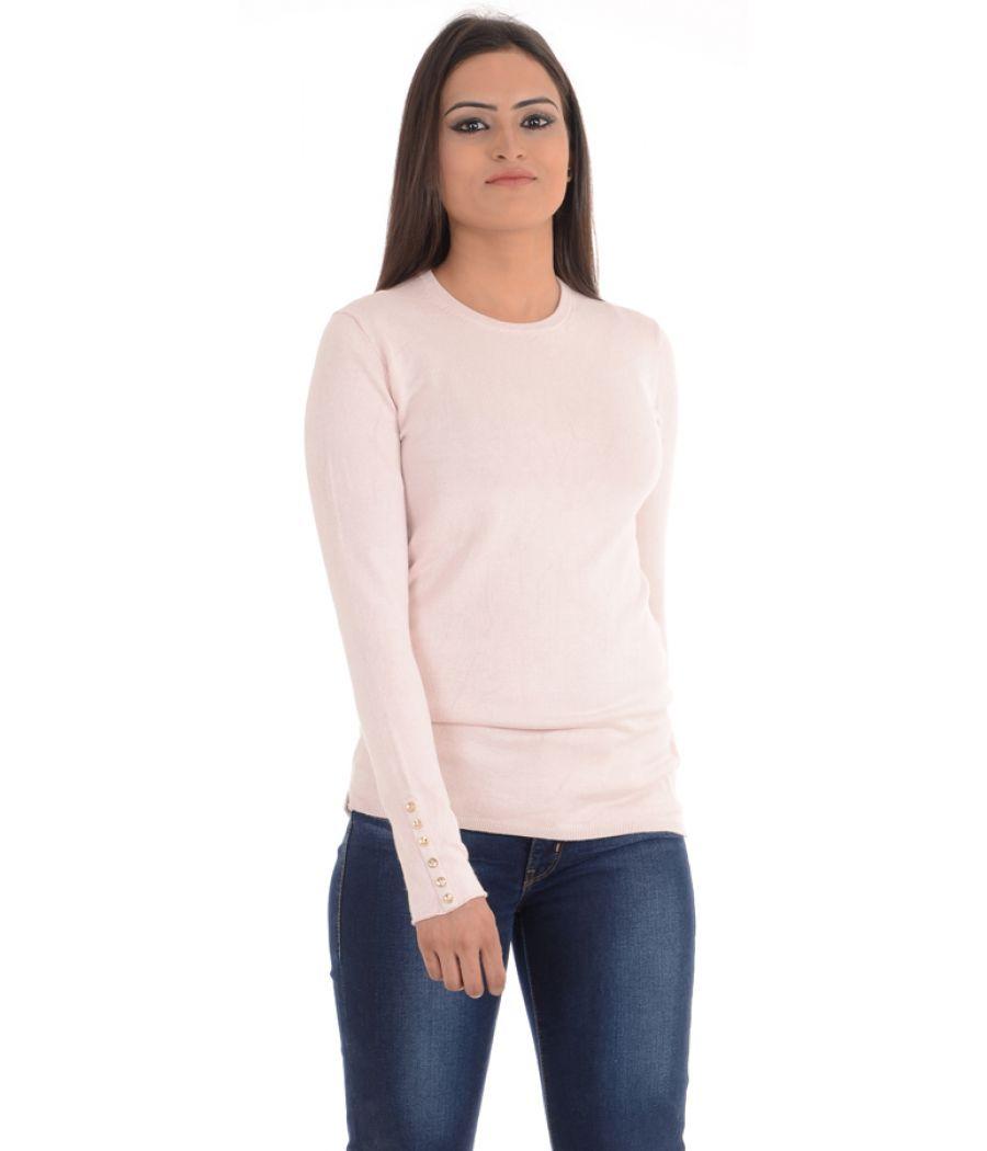 Zara Knit Pink Sweater