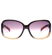 Parim Purple Square Sunglasses With Multicolour Frame