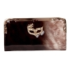 Envie Black and Beige Coloured Party Clutch